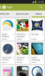 Samsung Galaxy Trend Plus - Apps - Herunterladen - 14 / 21