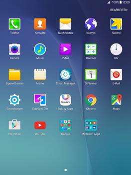 Samsung Galaxy Tab A 9.7 - Apps - Konto anlegen und einrichten - 3 / 18