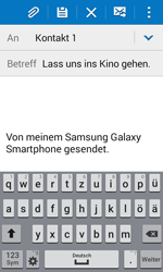 Samsung G388F Galaxy Xcover 3 - E-Mail - E-Mail versenden - Schritt 9