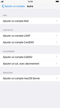 Apple iPhone 7 Plus - iOS 11 - E-mail - configuration manuelle - Étape 6