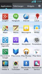 LG Optimus F5 - Internet et connexion - Désactiver la connexion Internet - Étape 3