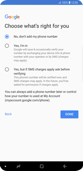 Samsung Galaxy S9 Plus - Applications - Setting up the application store - Step 17