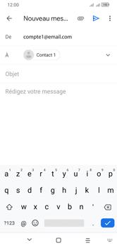 Alcatel 1S (2020) - E-mails - Envoyer un e-mail - Étape 7