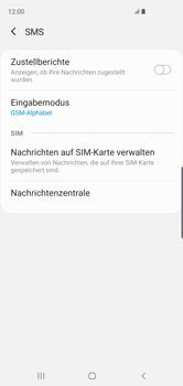 Samsung Galaxy S10 - SMS - Manuelle Konfiguration - Schritt 11