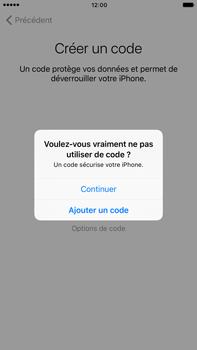 Apple iPhone 7 Plus - Premiers pas - Créer un compte - Étape 16