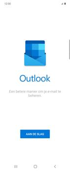 Samsung Galaxy Z Flip Single-SIM + eSIM (SM-F700F) - E-mail - 032c. Email wizard - Outlook - Stap 6