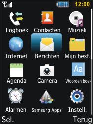 Samsung C3350 Xcover 2 - E-mail - Handmatig instellen - Stap 4