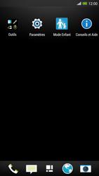 HTC One Max - Internet et roaming de données - Comment vérifier que la connexion des données est activée - Étape 3