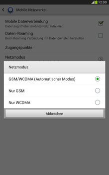 Samsung N5100 Galaxy Note 8-0 - Netzwerk - Netzwerkeinstellungen ändern - Schritt 7