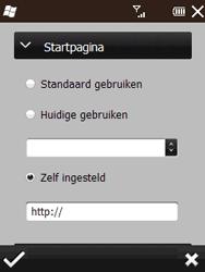 HTC T3333 Touch II - internet - handmatig instellen - stap 17