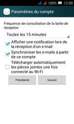 Huawei Y3 - E-mail - Configuration manuelle - Étape 18