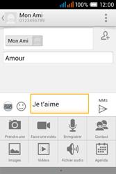 Alcatel OT-4015X Pop C1 - Contact, Appels, SMS/MMS - Envoyer un MMS - Étape 13