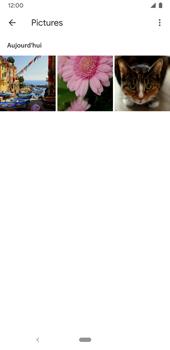 Google Pixel 3a - Photos, vidéos, musique - Envoyer une photo via Bluetooth - Étape 7