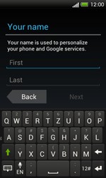HTC One SV - Applications - Setting up the application store - Step 5