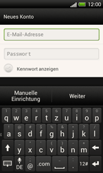 HTC C525u One SV - E-Mail - Konto einrichten - Schritt 6