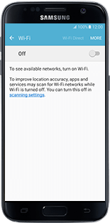 Alcatel MiFi Y900 - Getting started - Connecting the modem with your smartphone or tablet - Step 7