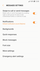Samsung G920F Galaxy S6 - Android Nougat - SMS - Manual configuration - Step 6