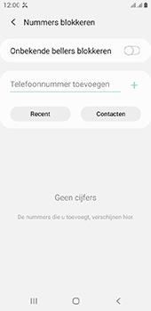 Samsung galaxy-a6-sm-a600fn-ds-android-pie - Beveiliging en ouderlijk toezicht - Nummer blokkeren - Stap 7