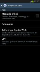 Samsung Galaxy S 4 Active - Internet e roaming dati - Disattivazione del roaming dati - Fase 5
