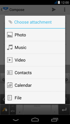 Acer Liquid Jade - E-mail - Sending emails - Step 11