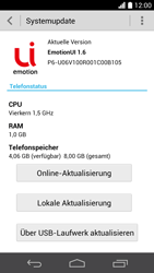 Huawei Ascend P6 - Software - Installieren von Software-Updates - Schritt 7