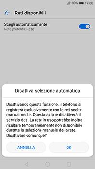 Huawei P10 Plus - Rete - Selezione manuale della rete - Fase 7