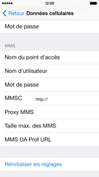 Apple iPhone 5c - MMS - Configuration manuelle - Étape 8