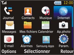 Samsung S3570 Chat 357 - Internet - Navigation sur Internet - Étape 2