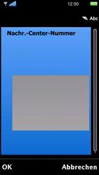Sony Ericsson U5i Vivaz - SMS - Manuelle Konfiguration - Schritt 11