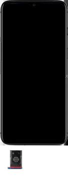 OnePlus 7T - Premiers pas - Insérer la carte SIM - Étape 3