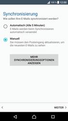 Sony Xperia XA - E-Mail - Manuelle Konfiguration - Schritt 19