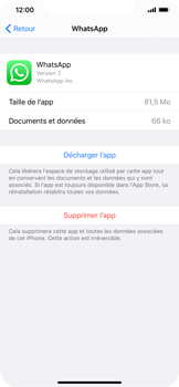 Apple iPhone XS Max - iOS 13 - Applications - Comment désinstaller une application - Étape 6