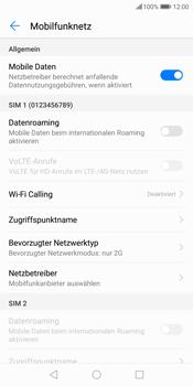 Huawei P Smart - Netzwerk - Netzwerkeinstellungen ändern - 8 / 8