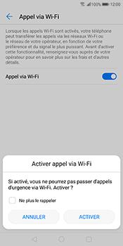 Huawei Mate 10 Pro - WiFi - Activez WiFi Calling - Étape 8