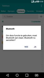 LG K8 4G DualSim - Contactgegevens overzetten - delen via Bluetooth - Stap 9