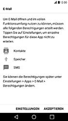 LG X Power - E-Mail - Konto einrichten - 19 / 22
