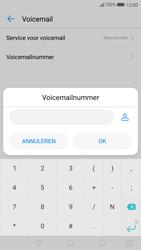 Huawei P10 Lite - Voicemail - Handmatig instellen - Stap 8
