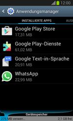 Samsung Galaxy Trend Lite - Apps - Eine App deinstallieren - Schritt 5