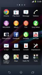 Sony Xperia Z1 - Internet e roaming dati - Come verificare se la connessione dati è abilitata - Fase 3