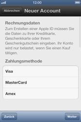 Apple iPhone 3GS - Apps - Einrichten des App Stores - Schritt 13