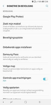 Samsung Galaxy A9 - Beveiliging en privacy - zoek mijn mobiel activeren - Stap 5