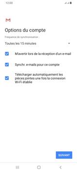 Samsung Galaxy A42 5G - E-mails - Ajouter ou modifier votre compte Yahoo - Étape 12