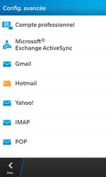 BlackBerry Z10 - E-mails - Ajouter ou modifier un compte e-mail - Étape 7