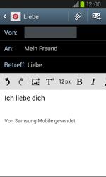 Samsung I9105P Galaxy S2 Plus - E-Mail - E-Mail versenden - Schritt 9