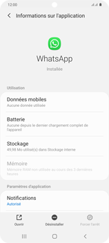Samsung Galaxy S20+ - Applications - Supprimer une application - Étape 6