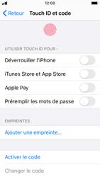Apple iPhone SE - iOS 13 - Sécurité - activéz le code PIN de l'appareil - Étape 4