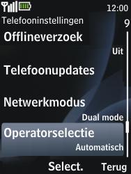 Nokia 2730 classic - netwerk en bereik - gebruik in binnen- en buitenland - stap 5