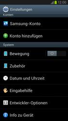 Samsung Galaxy S III LTE - Software - Installieren von Software-Updates - Schritt 5