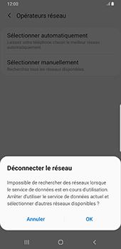 Samsung Galaxy Note9 - Android Pie - Réseau - Sélection manuelle du réseau - Étape 8