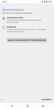 Sony xperia-xz3-dual-sim-model-h9436 - E-mail - Account instellen (IMAP met SMTP-verificatie) - Stap 20